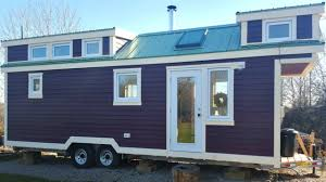 Small Home Designs by Tiny House On Wheels Homey Country Chic Style Interior Small