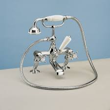 silverdale victorian traditional bath shower mixer tap uk bathrooms