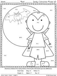 math halloween coloring worksheets google search work