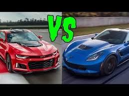 camaro zl1 vs corvette z06 best of cars comparison 2017 camaro zl1