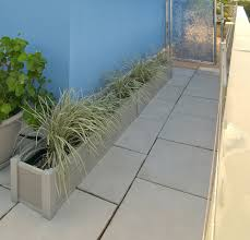 large wood garden planters deepstream designs