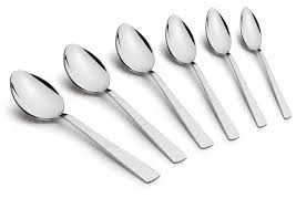 Britex Stainless by Classic Essentials Archies Stainless Steel Baby Spoon 6 Piece At