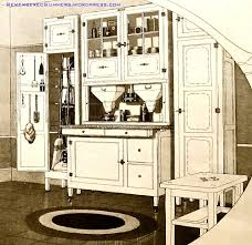 1920s Kitchen Cabinets Free Standing Kitchen Cabinets Remembered Summers