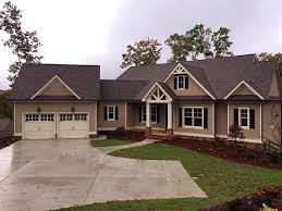 front sloping lot house plans house plan 50257 at familyhomeplans com