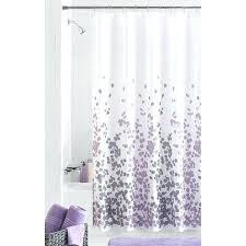 Purple Bathroom Curtains Purple And Gray Shower Curtains Howtolarawith Me