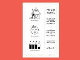 creative housewarming invitation cards cogimbo us
