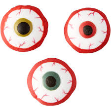 bloody eyeball icing decorations 710 7143 country kitchen sweetart