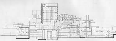 national theatre floor plan brutalist buildings national theatre london by denys lasdun