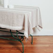 provence linen beige tablecloth relish decor