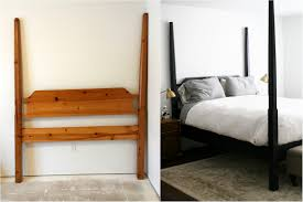 Black Four Poster Bed Frame Black Four Poster Beds And A 40 Diy And Tutorial Create Enjoy