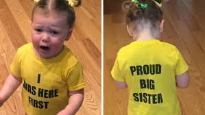 mommy to be halloween shirt best sibling reactions to pregnancy news today com