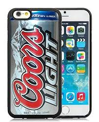 case of coors light amazon com iphone 6 case coors light beer can black case for iphone