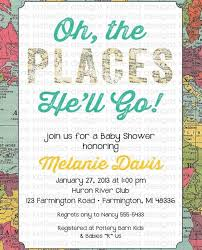 oh the places you ll go baby shower oh the places you ll go baby shower invitations yourweek