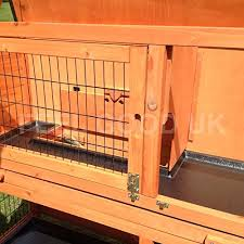 3 Storey Rabbit Hutch Feelgooduk 2 Tier Rabbit Hutch U0026 Run Guinea Pig House Cage With