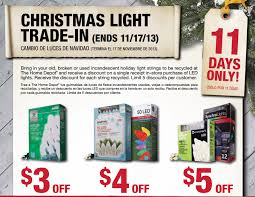 home depot martha stewart christmas tree black friday home depot christmas light trade in offer my frugal adventures