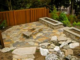 Sunken Patio Shepherd Stoneworks Of Seattle Fireplaces And Fire Pits