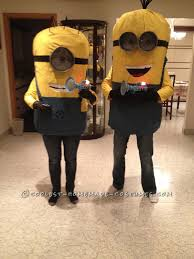 Despicable Minion Costume Diy Minions Despicable Couple Halloween Costume