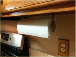 under cabinet kitchen paper towel holder towel