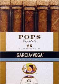 Royal Comfort Cigarillos Garcia Vega Pops Crystals Sweet And Mild 25ct Box