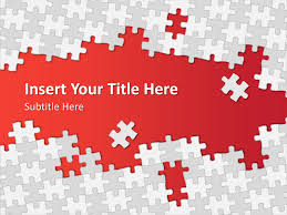 Free Puzzle Powerpoint Template Powerpoint Presentation Ppt Puzzle Powerpoint Template Free