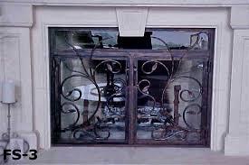 fireplace screens oscar u0027s custom iron works 220 blanco rd san