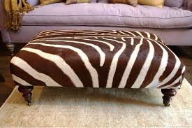 Zebra Ottoman Zebra Bench Ottoman Buying Zebra Ottoman Ottomans Home Design