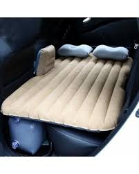 great deal on car air bed inflatable mattress back seat cushion