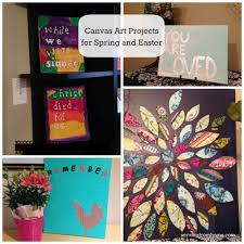 Canvas Home Store by Canvas Art Projects For Spring And Easter Serving From Home