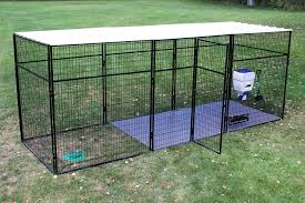 Dog Kennel Flooring Outside by 7 U0027 Tall Ultimate Dog Kennel