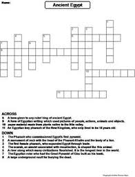 ancient egypt worksheet crossword puzzle by science spot tpt