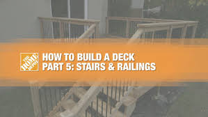 planning to build a house how to build a deck part 1 planning the home depot canada