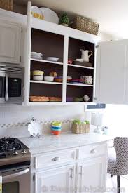 how to paint kitchen cabinets inside painting cabinets inside white kitchen makeover inside