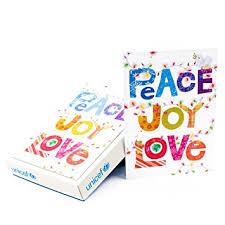 hallmark unicef boxed cards peace