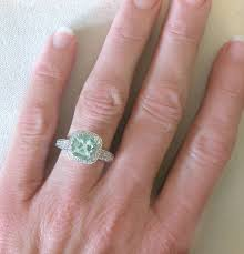 green amethyst engagement ring 8mm green amethyst ring from myjewelrysource gr 2087