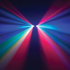 adj dual gem pulse ir moonflower strobe light effect led fixture