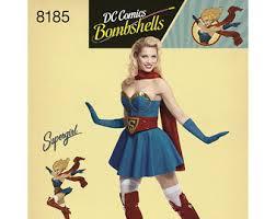Halloween Costumes Supergirl Supergirl Costume Etsy