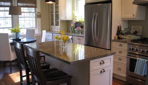 kitchen graceful alarming kitchen island set with granite top by