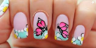 butterfly nail designs web gallery with butterfly nails at