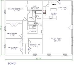 floor plans 2000 square feet 4 bedroom home deco plans floor plans texas barndominiums