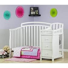 dream on me changing table white dream on me casco 4 in 1 mini crib and changing table in white