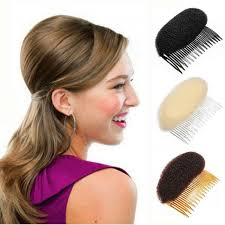 ponytail bump youmap bump up volume hair inserts comb hair styling retro disc