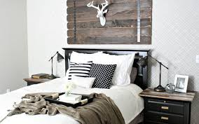 Rustic Themed Bedroom - cabin fever modern cabin decor furnishmyway blog
