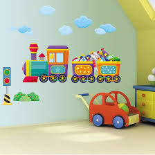 Thomas The Tank Room Decor by Boys Bedroom Train Wall Art Stickers Bedrooms Walls And Room