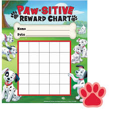 101 dalmatians paw sitive mini reward chart stickers u2013