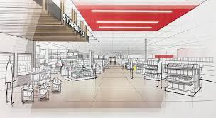 100 retail floor plan software as built drawings elevation