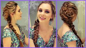 elsa from frozen inspired hair makeup u0026 dress get ready with me