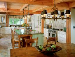 country kitchen plans awesome open country kitchen designs in farmhouse plans
