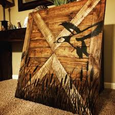 Duck Home Decor Duck Hunting Wall Decor Wood Sign By Makeyourselfcreative On Etsy