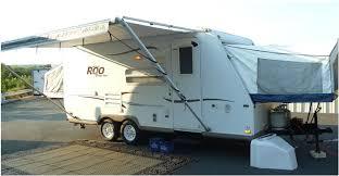 ultra light hybrid travel trailers 2004 rockwood roo 21ss ultralight hybrid cer sleeps 8 full
