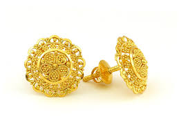 gold earrings tops tops 22c gold products high jewelry gold